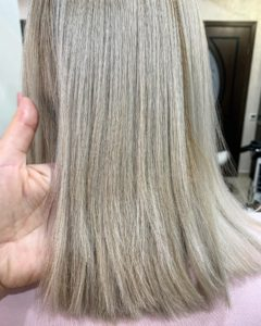 Окрашивание волос красителем «Инновация Эво»