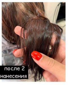 Кислотное выведение цвета с волос (смывка)
