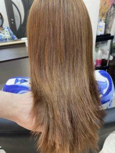 био-выпрямление волос
